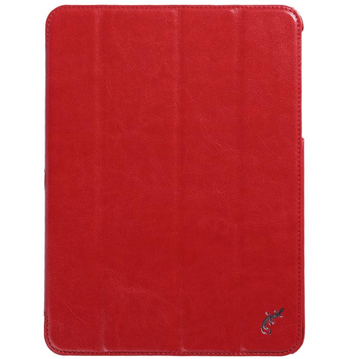 Чехол G-Case Slim Premium для Samsung Galaxy Tab 4 10.1 красный Уцененный товар (№3)
