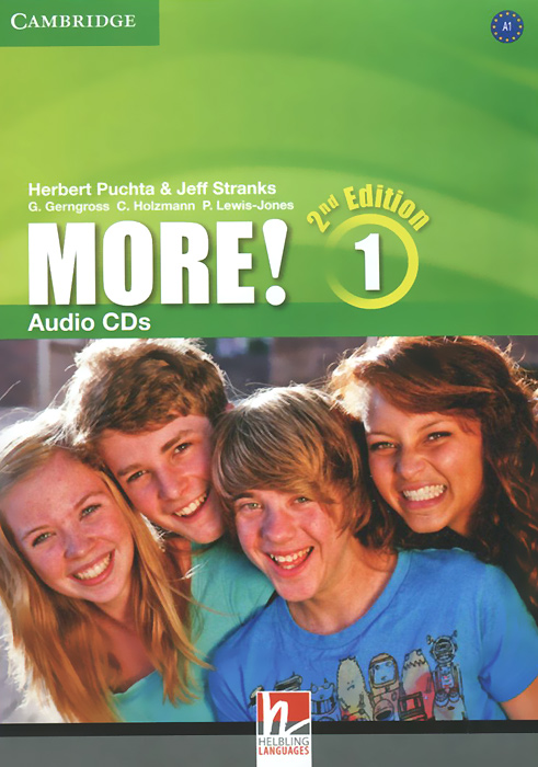 More! Level 1 (аудиокурс на 3 CD) english in mind level 3 аудиокурс на 3 cd