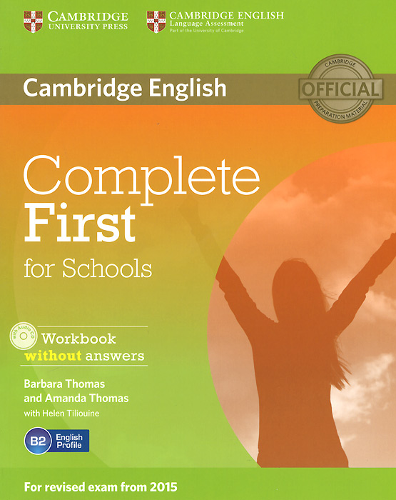 Complete First for Schools: Workbook without Answers (+ CD-ROM) ket for schools direct workbook with answers