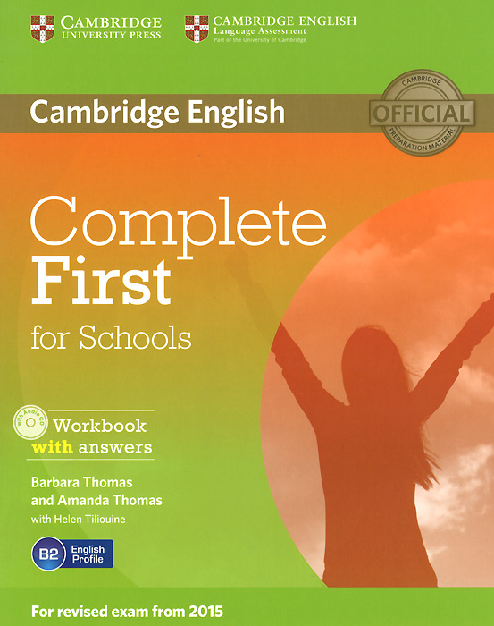 Complete First for Schools: Workbook with Answers (+ CD-ROM) ket for schools direct workbook with answers