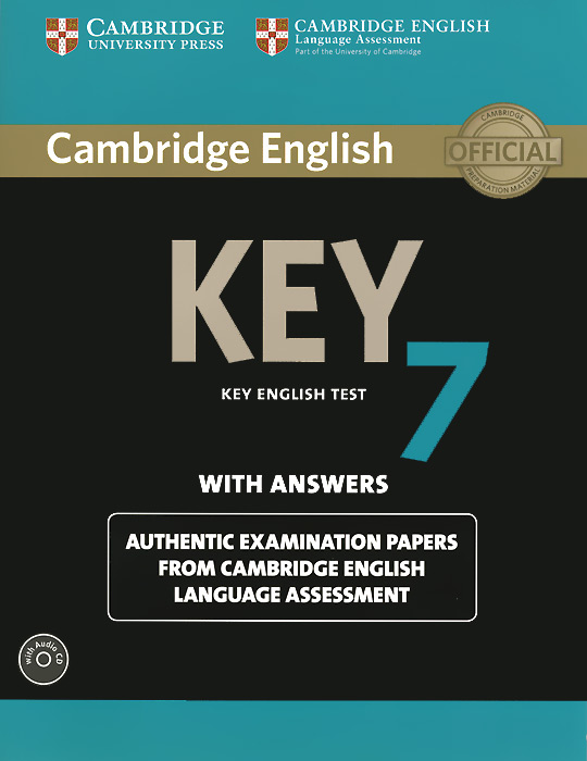 Cambridge English Key 7: Student's Book with Answers (+ CD-ROM) cambridge key english test extra student s book