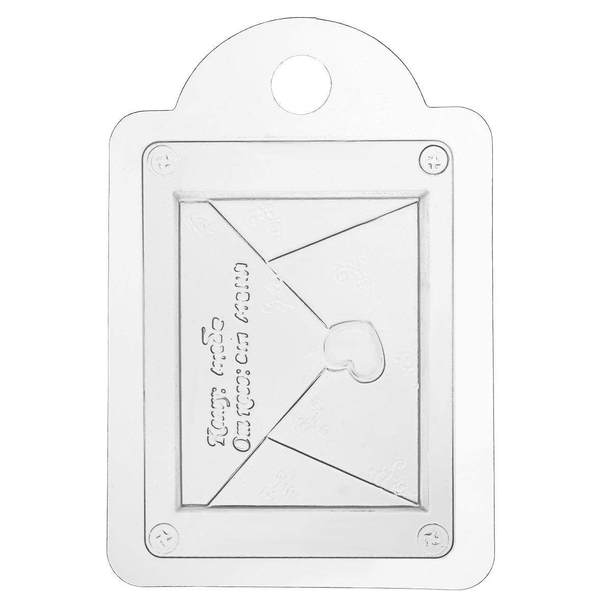 Форма для литья Любовное послание, пластиковая, 16 х 11 х 2,5 см форма для литья танк пластиковая 16 х 11 х 2 5 см