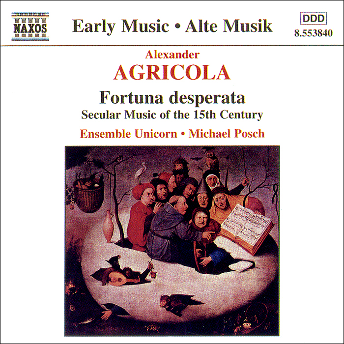 Ensemble Unicorn,Михаэль Пош Agricola. Secular Works карандаш пош