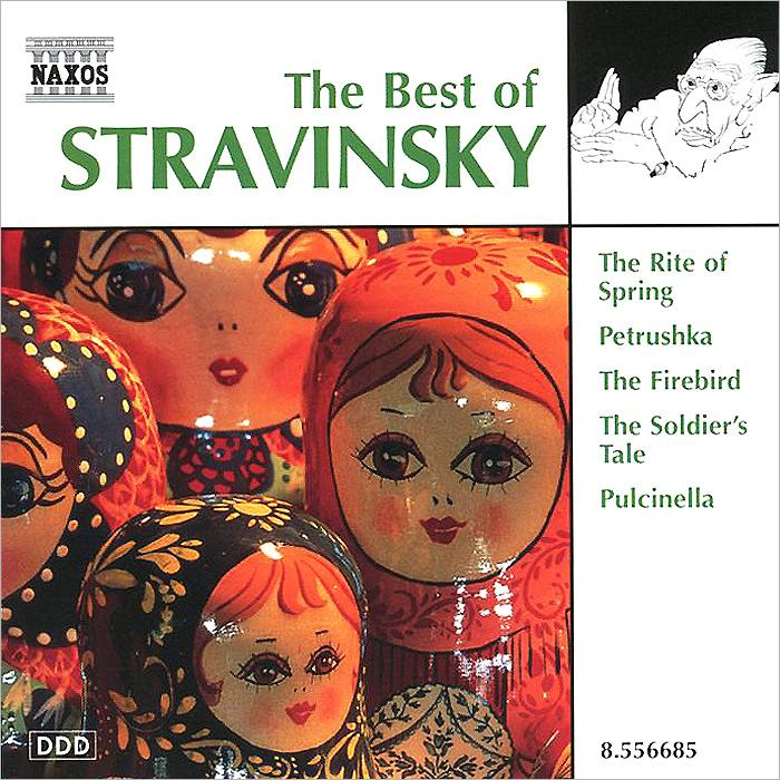 лучшая цена The Best Of Stravinsky