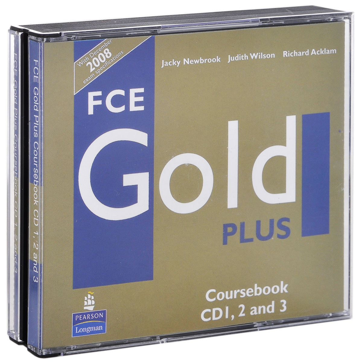 FCE Gold Plus: Coursebook (аудиокурс на 3 CD) ledron strong gold
