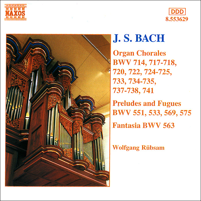 Йозеф Пайн,Вольфганг Рубсам,Энтони Ньюман J. S. Bach. Organ Chorales, Preludes And Fugues цены онлайн
