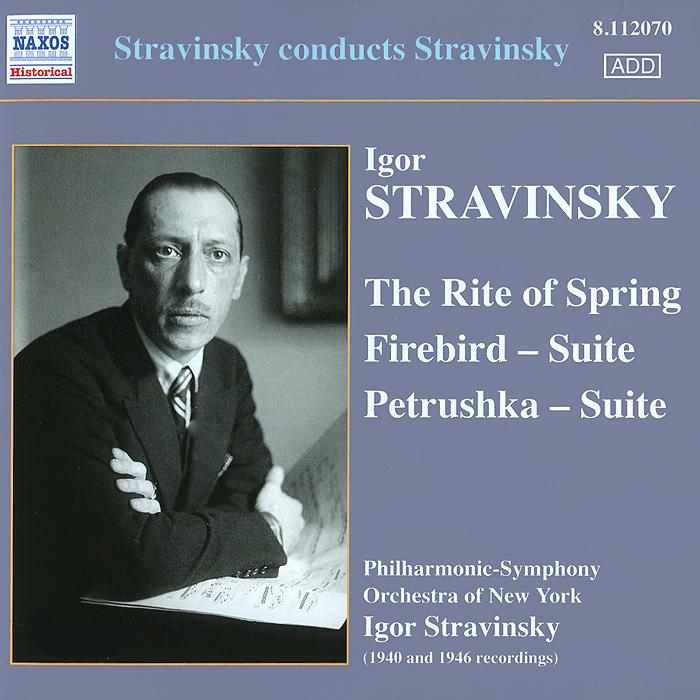 лучшая цена Игорь Стравинский,Philharmonic Symphony Orchestra Of New York Stravinsky. Firebird / Petrushka / The Rite Of Spring
