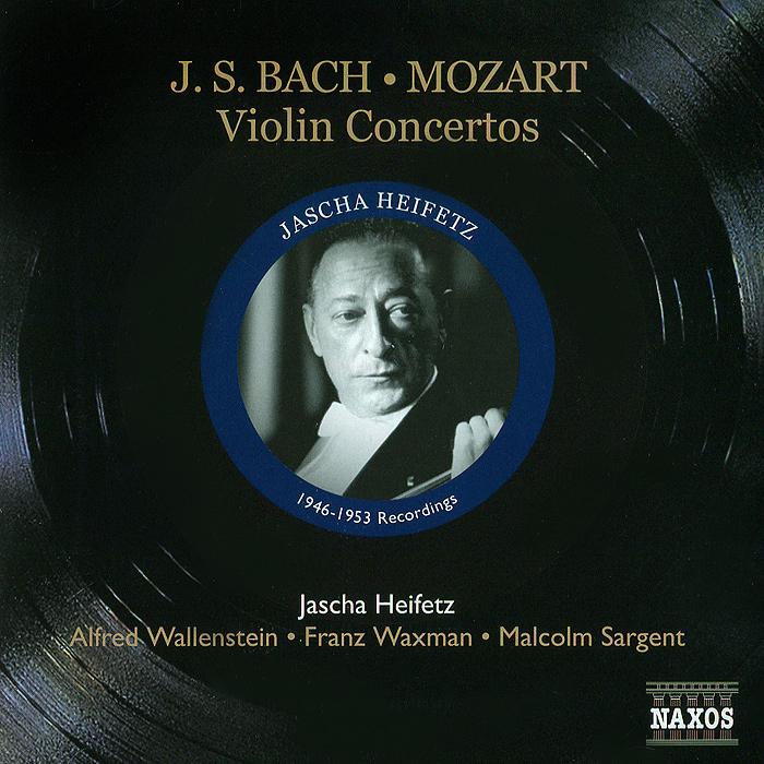 цена на Яков Хейфец Jascha Heifetz. Bach / Mozart. Violin Concertos