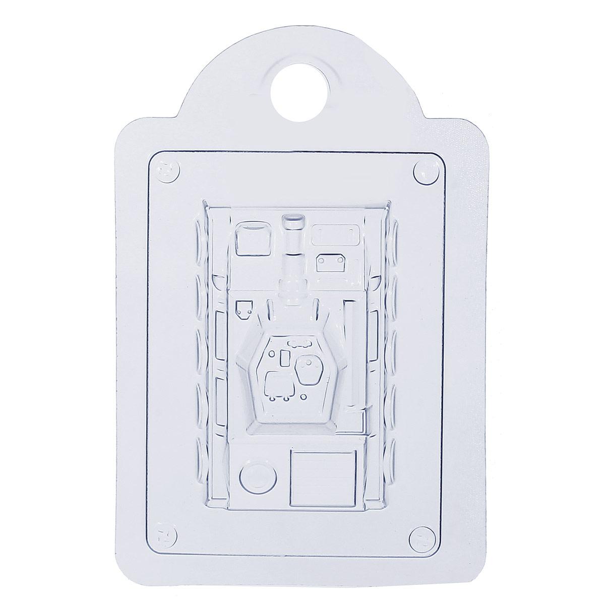 Форма для литья Танк, пластиковая, 16 х 11 х 2,5 см форма для литья танк пластиковая 16 х 11 х 2 5 см