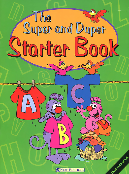The Super and Duper: Starter Book: Teacher's Book alphabet set magnetic upper case letters 4 by rubbabu
