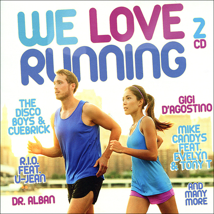 Wamdue Project,Picco,Marc Kiss,Stereo Light ,Ян Ване,Dr. Alban,Ultra Nate,Tim Berg,Dreiundzwanzig,Amelie We Love Running (2 CD) we love electro iv 2 cd