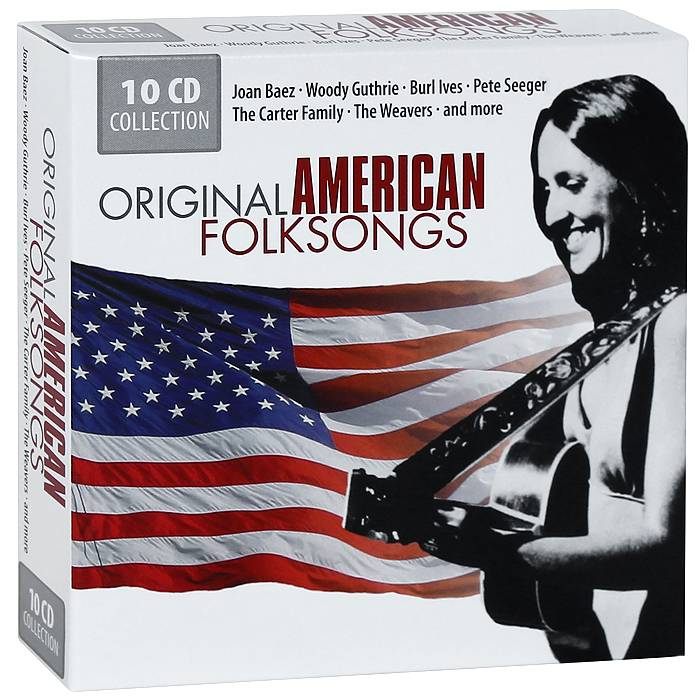 The Sons Of The Pioneers,Берл Айвс,Фрэнк Хатчисон,Джо Стаффорд Original American Folksongs (10 CD) woody guthrie house of earth