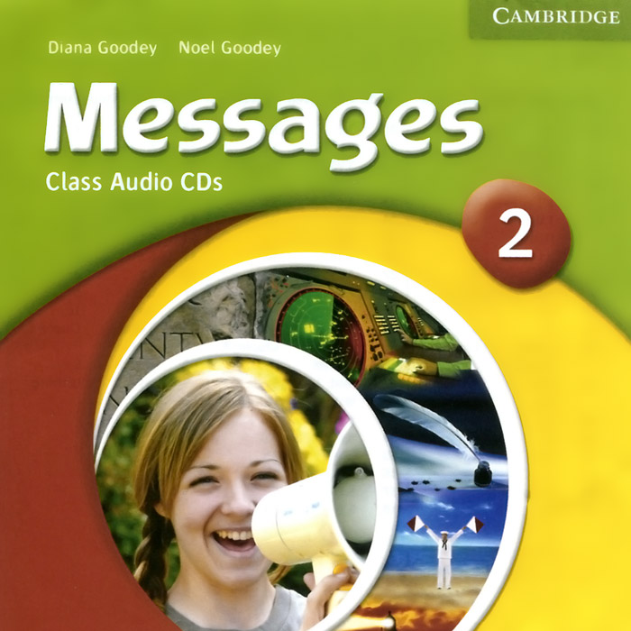 Messages 2: Class Audio CDs (аудиокурс на 2 CD) | Goodey Diana, Goodey Noel