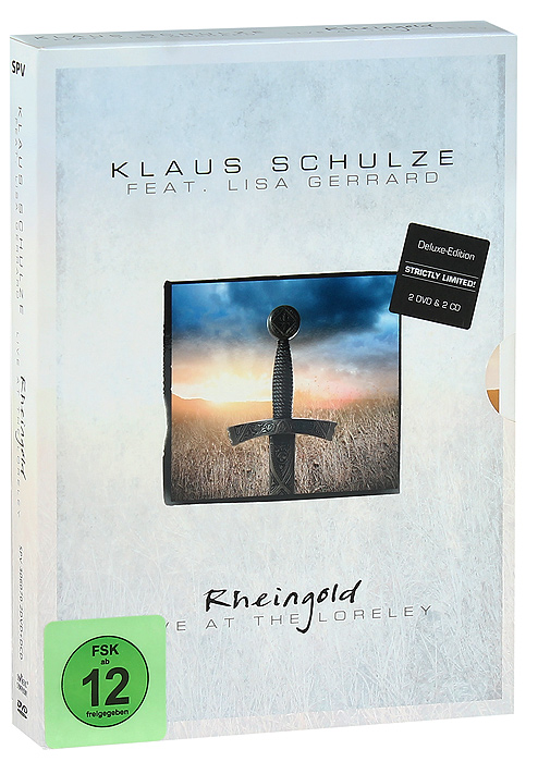 Klaus Schulze & Lisa Gerrard: Rheingold - Live At The Loreley (2 DVD + 2 CD) mother s finest live at rockpalast dvd 2 cd