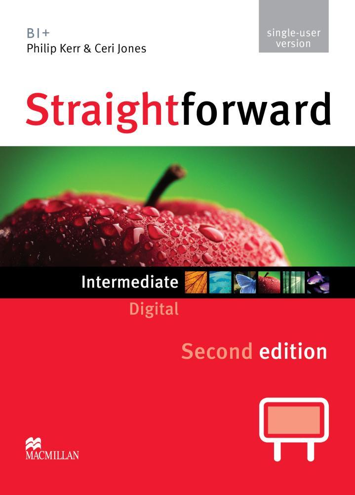 цена на Straightforward Digital: Single-user Version: Intermediate B1+ Level (DVD-ROM)