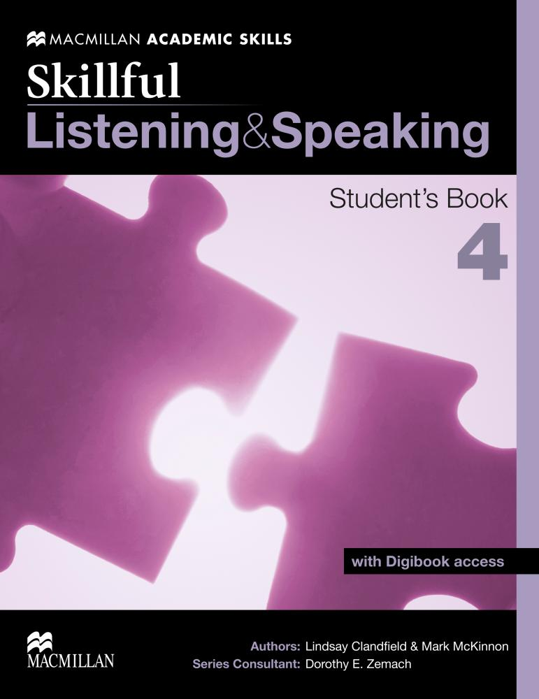 Skillful Listening and Speaking Student's Book 4 bin zou computer assisted language learning for listening and speaking skills