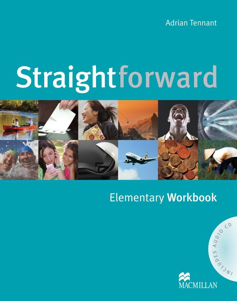 Straightforward: Elementary Workbook (+ аудиокурс на CD)