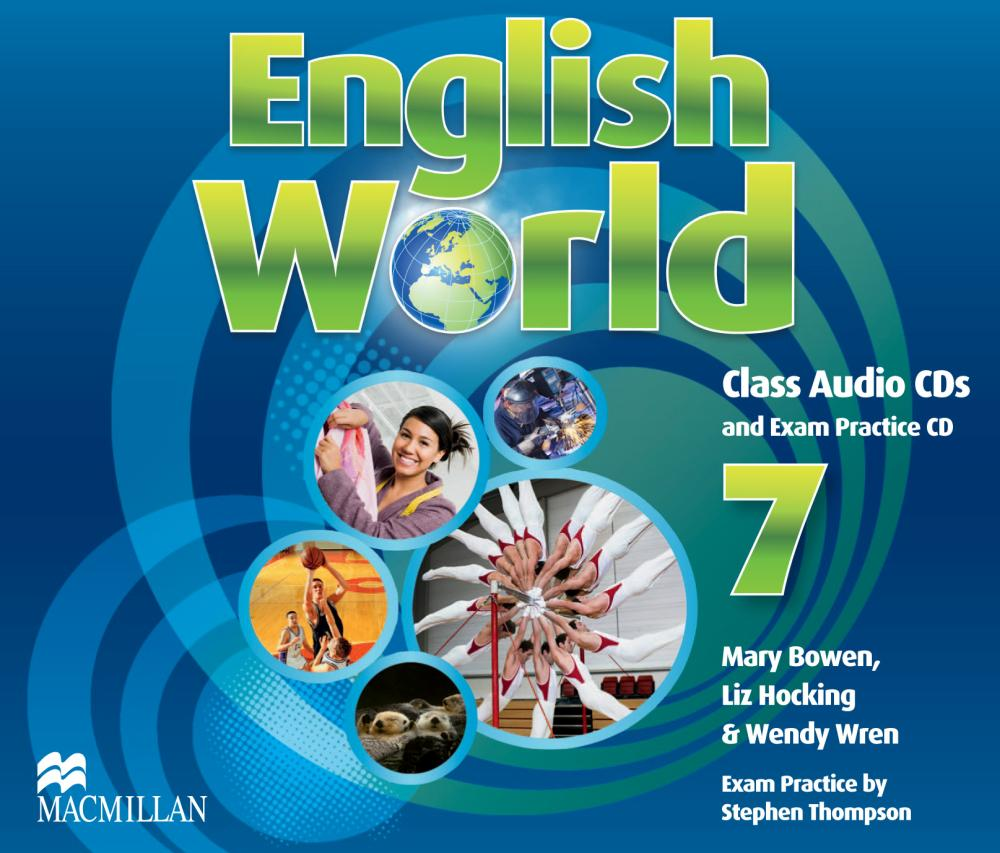 English World 7: Level A2 B1: Class Audio CDs and Exam Practice CD (аудиокурс на 3 CD)
