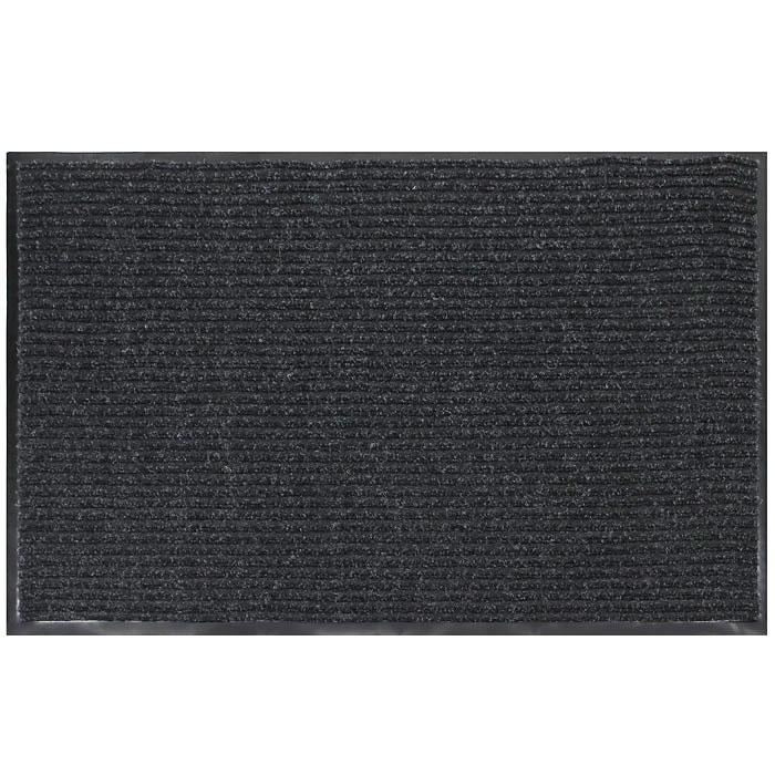 Коврик придверный Vortex, влаговпитывающий, 90 см х 120 см, цвет: серый коврик придверный vortex влаговпитывающий цвет коричневый 50 см х 80 см