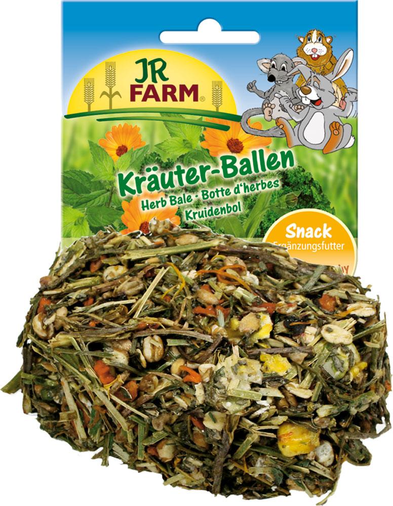 Лакомство для грызунов JR Farm Травяной тюк, 60 г лакомство для грызунов jr farm овощные хлопья 600 г