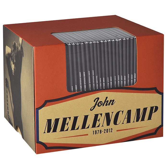 лучшая цена Джон Мелленкамп John Mellencamp. 1978-2012 (19 CD)