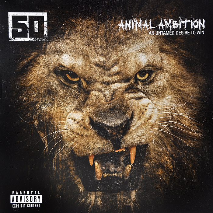 50 Cent 50 Cent. Animal Ambition: An Untamed Desire To Win (2 LP) цена и фото