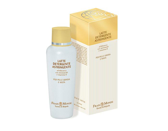 Frais Monde Молочко для очищения кожи лица и снятия макияжа, вяжущее, для жирной и смешанной кожи, 200 мл