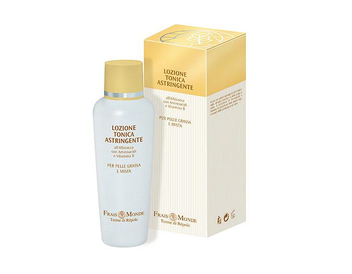Frais Monde Лосьон-тоник для очищения кожи лица и снятия макияжа, вяжущий, для жирной и смешанной кожи, 200 мл