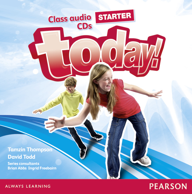 Today! Starter: Class Audio CDs (аудиокурс на 2 CD)