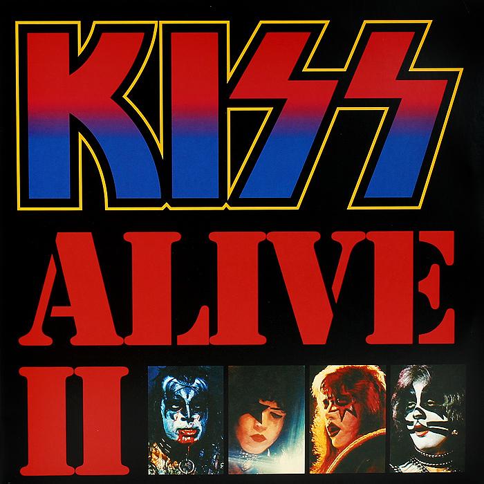 Kiss Kiss Alive II 2 LP