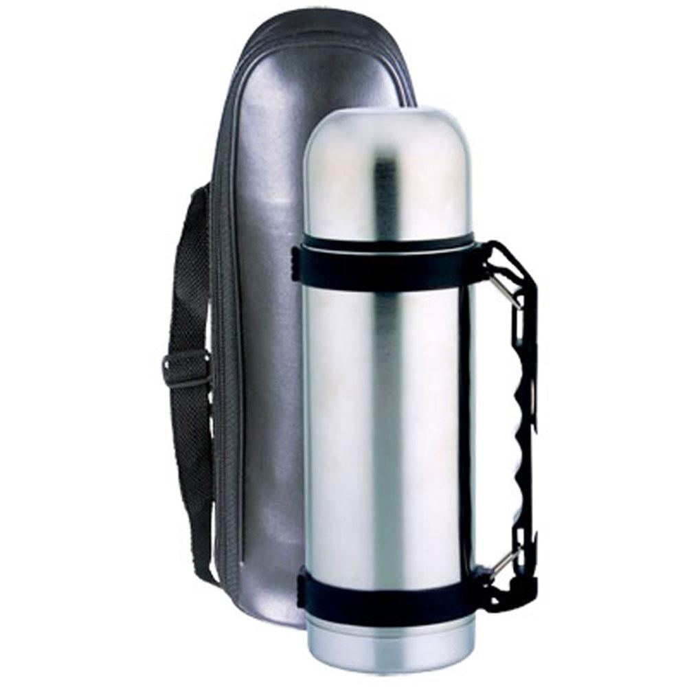 "Термос ""Bohmann"" с узким горлом, цвет: металлик, 600 мл"