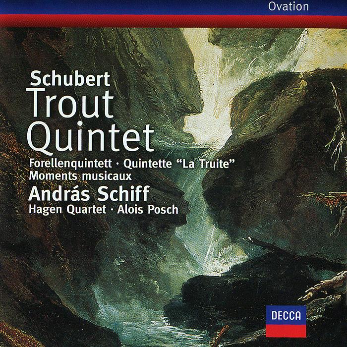 Андрас Шифф,Hagen Quartett Andras Schiff. Schubert. Trout Quintet / Moments Musicaux