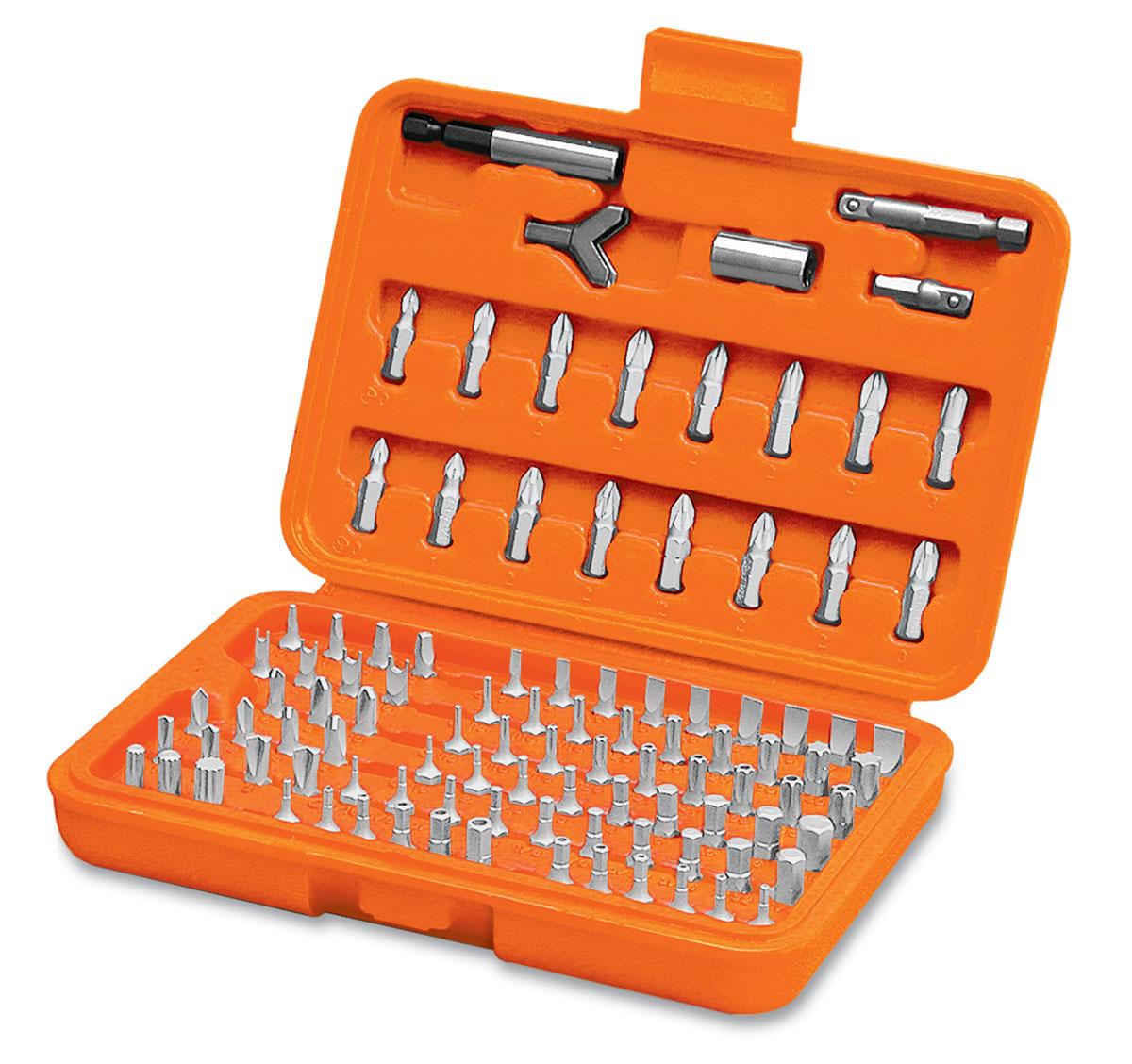 Набор бит Truper, 100 шт ключ park tool ccw 5 для шатунов 14 мм x 8 мм ptlccw 5