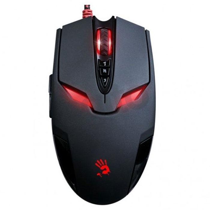 лучшая цена Игровая мышь A4Tech Bloody V4M, Black