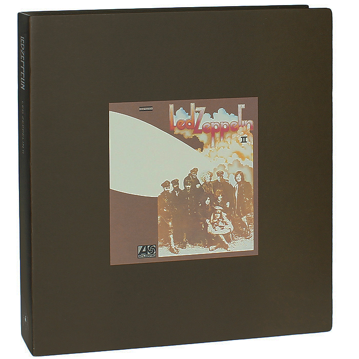 Led Zeppelin Led Zeppelin. Led Zeppelin II. Super Deluxe Edition (2 LP + 2 CD) cd led zeppelin bbc sessions