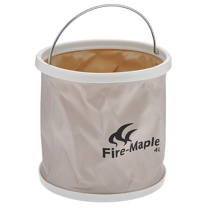 """Ведро складное """"Fire-Maple"""", с чехлом, 4 л"""