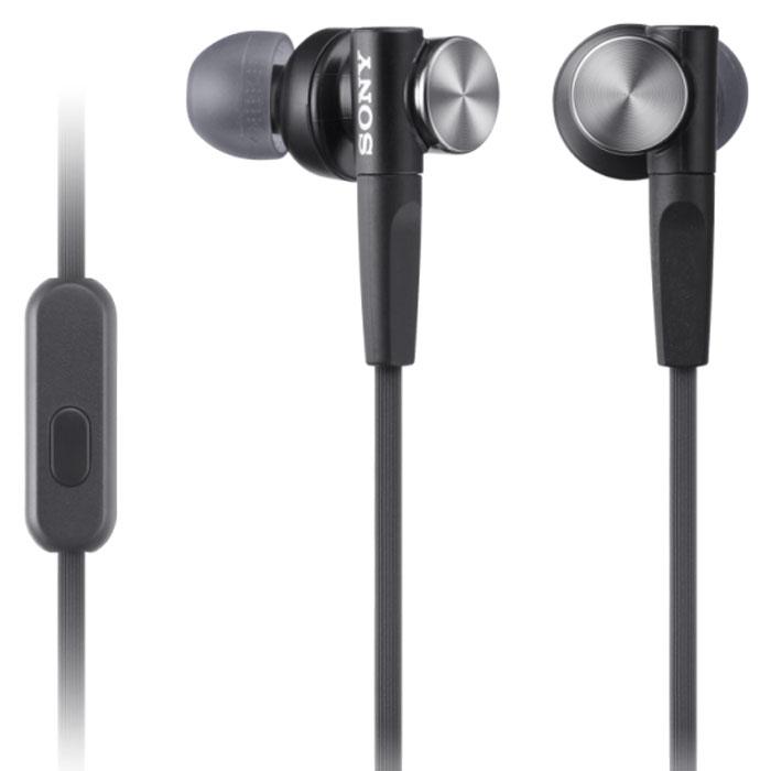 Sony MDR-XB50APB, Black гарнитура гарнитура sony mdr zx660ap black