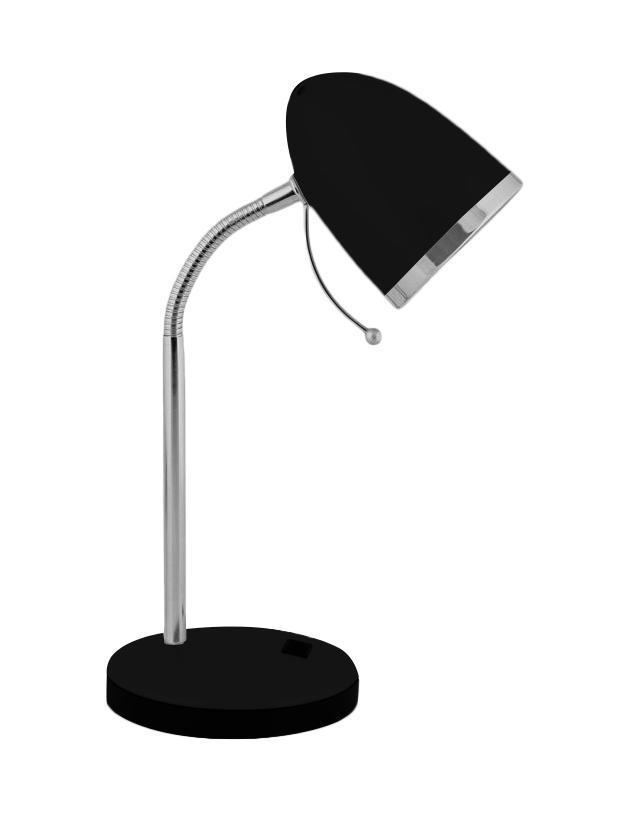 Настольный светильник Camelion KD-308 (C02), Black, E27, 40 Вт