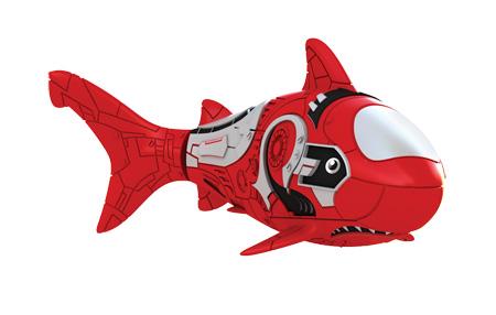 цена на Игрушка для ванны Robofish РобоРыбка: Акула, цвет: красный