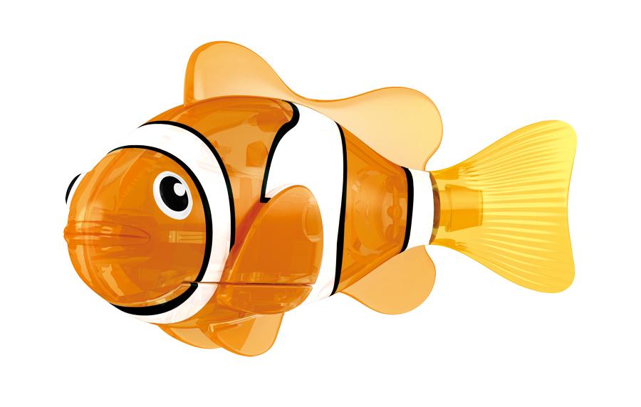 цена на Игрушка для ванны Robofish Светодиодная РобоРыбка: Красная сирена, цвет: оранжевый, белый