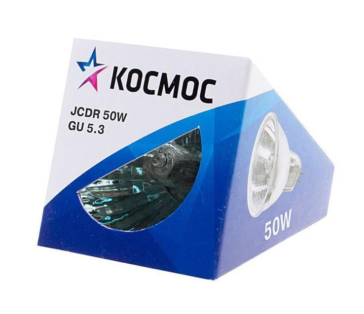 "Лампа галогенная ""Космос"". Модель JCDR 50W 230V GU5.3"