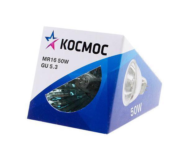 "Лампа галогенная ""Космос"". Модель MR16 50W 12V GU5.3"