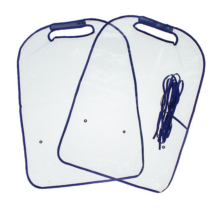 Защита для автомобильного кресла Bradex Авто-кроха, 2 шт защита для автомобильного кресла bradex авто кроха