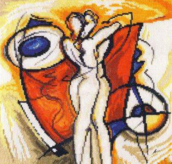 Набор для вышивания крестом Разжигающий страсть, 25 х 25 см набор для вышивания крестом алиса ремез 15 х 18 см