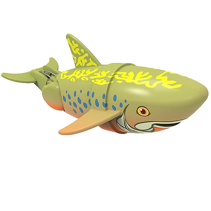 Игрушка для ванны Renwood Рыбка-акробат Брукс, цвет: хаки