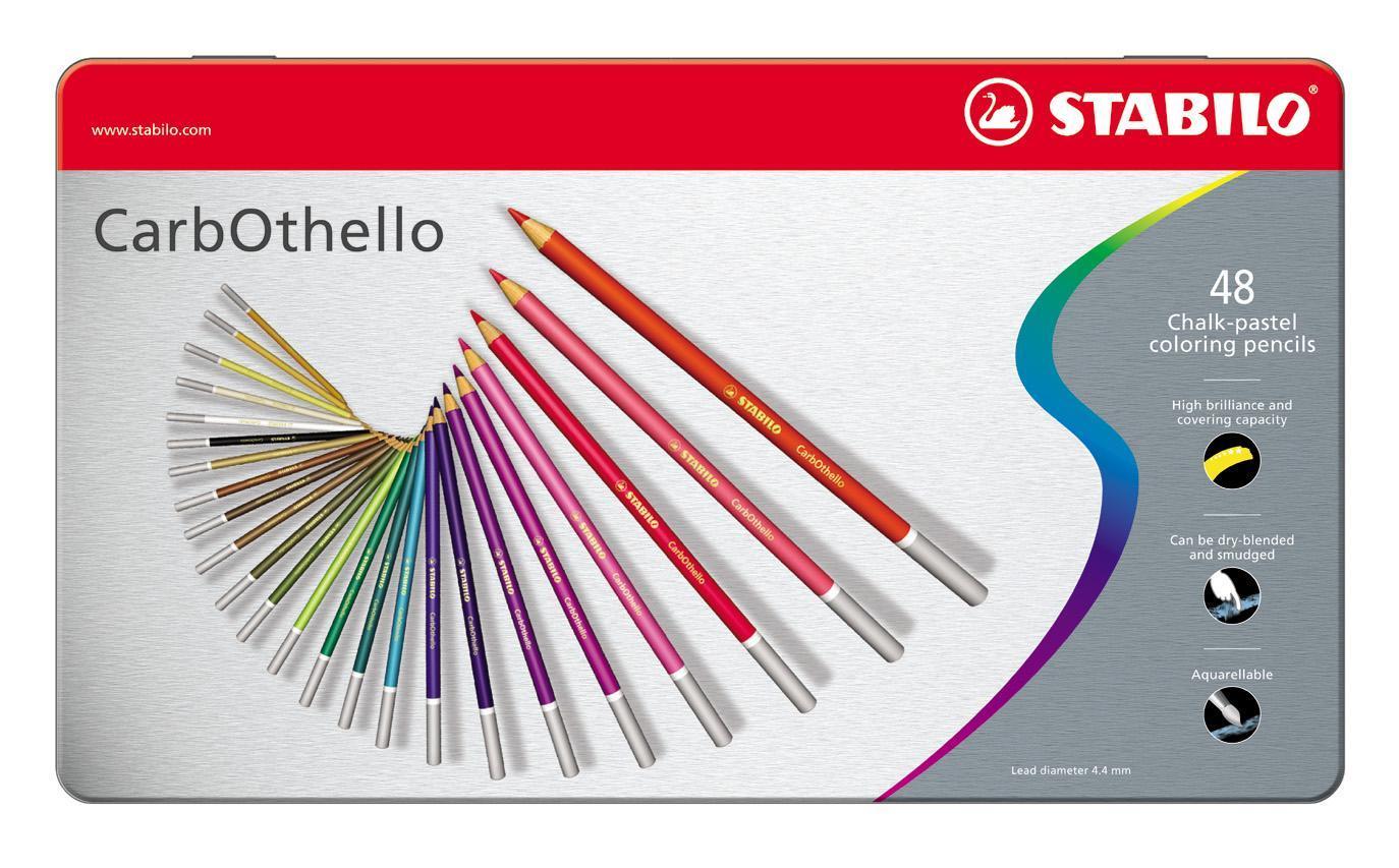 Фото - Набор цветных карандашей Stabilo CarbOthello, 48 цветов цветные карандаши stabilo carbothello пастель 36 цветов