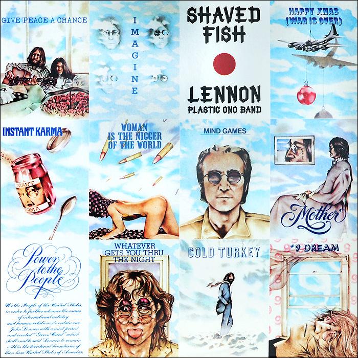 Джон Леннон John Lennon. Shaved Fish (LP)