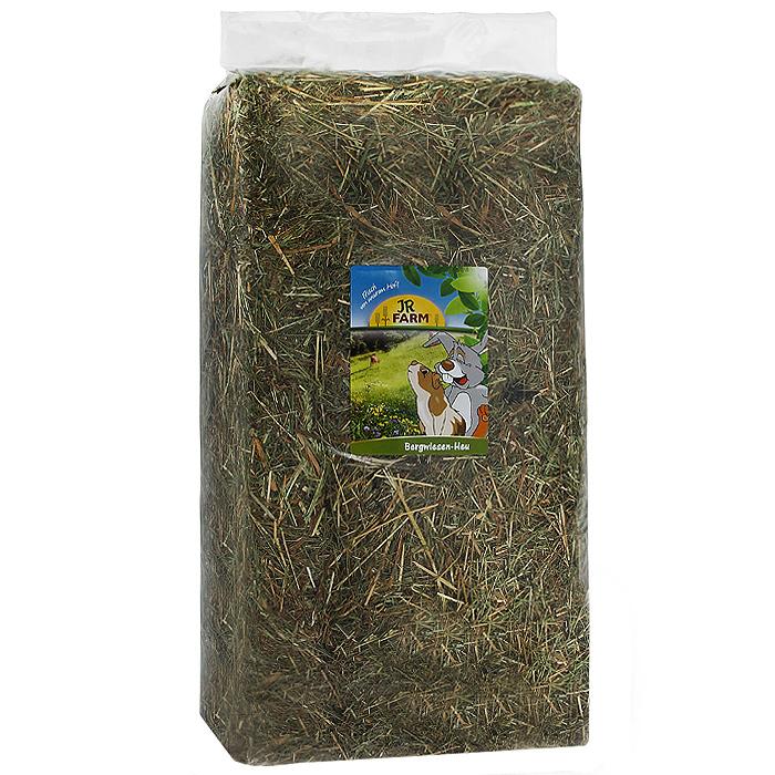 Сено луговое горное JR Farm, для карликовых кроликов и морских свинок, 2,5 кг цена