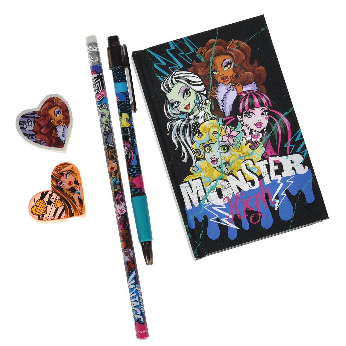 Фото - Канцелярский набор Monster High, 5 предметов канцелярский набор monster high 3 предмета