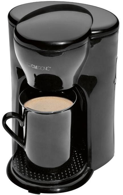 Кофеварка электрическая Clatronic KA 3356, Black Clatronic